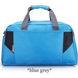 Costbuys  Sports Nylon Women Gym Bags Professional Outdoor Men And Women Gym Handbag Female Training Shoulder Bag Gym Bag - blue