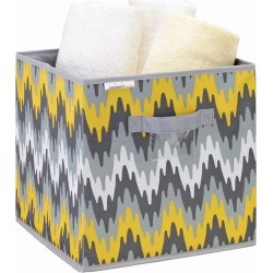 Storage Box Cube - Joni Grey Citron | Storage