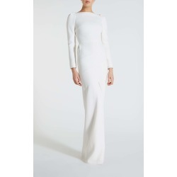 Ella Gown - 8 / White found on Bargain Bro UK from Roland Mouret