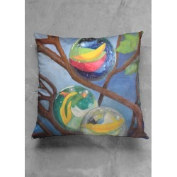 Accent Pillow - Luster Square - Tree Orbs by VIDA found on Bargain Bro India from SHOPVIDA for $30.00