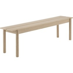 Linear Wood Bench - Large