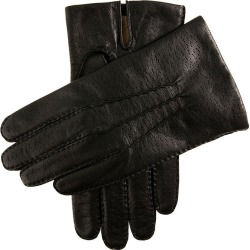 Dents Men's Imitation Peccary Leather Gloves In Black Size L found on Bargain Bro UK from Dents