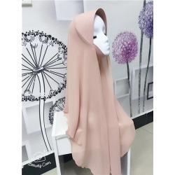 Costbuys  chiffon muslim hijabs scarf fashion headscarf voile musulman solid bonnet hijab - TJ71005 / One Size