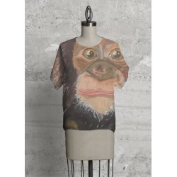 Modern Tee - Monkey See by VIDA Original Artist found on Bargain Bro India from SHOPVIDA for $90.00