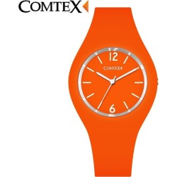 Costbuys Watches Women Comtex brand Fashion Casual quartz watches Silicone Sport relojes mujer women watches sport men watches