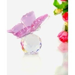 Costbuys Handmade Butterfly 4 Colors Glass Animal Home Decoration Accessories Wedding Gift...