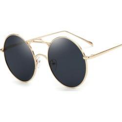 Sunglasses Coating Mirrored Sunglasses Round Sun
