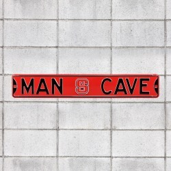 North Carolina State Wolfpack for NC State Wolfpack: Man Cave - Officially Licensed Metal Street Sign by Fathead | 100% Steel