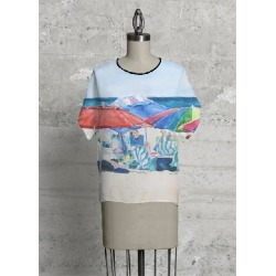 Modern Tee - Group Therapy Modern by VIDA Original Artist found on Bargain Bro India from SHOPVIDA for $75.00
