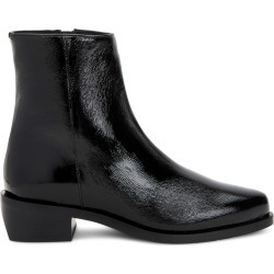 Aquatalia Gwenyth Black In Size 7 - Patent Leather - Made In Italy found on MODAPINS from Aquatalia for USD $495.00