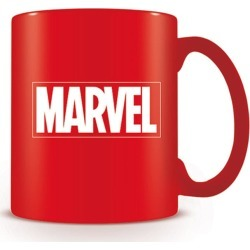 Official Marvel Red Logo Mug found on Bargain Bro UK from yellow bulldog