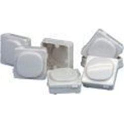 Blank Inserts To Suit Clipsal Wall Plate White Bag Of 10 found on Bargain Bro India from Simply Wholesale for $53.98