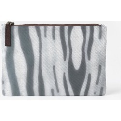 Carry-All Pouch - Gray Waves Juul Pouch in Purple by VIDA Original Artist