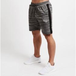 Costbuys  Men Running Sports Shorts Fitness Workout Gym Basketball Quick Dry jogging Bottom Sportswear - Gray / XXL