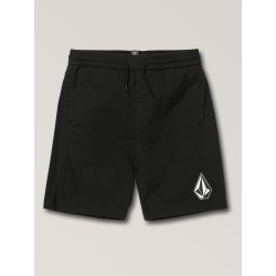 Volcom Big Boys Deadly Stones Shorts - Black - Black - L found on Bargain Bro India from volcom.com for $38.50