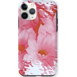 iPhone Case - Pink Red Flowers by VIDA Original Artist found on Bargain Bro from SHOPVIDA for USD $30.40
