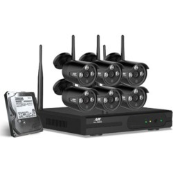 6 Camera Sets Cctv Wireless Security System 2Tb 8Ch Nvr 720P found on Bargain Bro from Simply Wholesale for USD $399.58