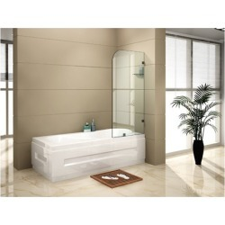 700mm x 1450mm Frameless 10mm Glass Shower Bath Panel found on Bargain Bro India from Simply Wholesale for $239.18