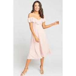 Camilla Dress ~ Dusty Blush Crisp found on MODAPINS from showmeyourmumu.com for USD $184.00