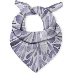 Multi-Use Cotton Scarf - Symmetrical Drops Indigo in Blue/Purple/White by VIDA Original Artist found on Bargain Bro Philippines from SHOPVIDA for $35.00