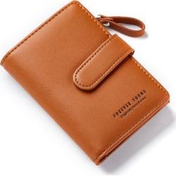 Costbuys  women Wallet Key Case Key Holder Wallet Coin Purse  Housekeeper Car Key Organizer Bag Small Portfolio - Brown