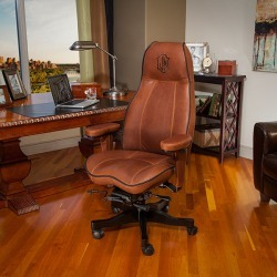 Lifeform High Back Executive Office Chair Dream Weave / Cappuccino