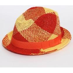 Orange and Yellow Beach Straw Hat