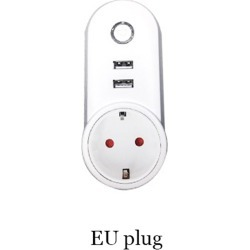 Costbuys  Wifi USB Smart EU US UK Power Socket  APP for Remote Control Socket Phone App for IOS Android - EU plug found on Bargain Bro India from cost buys for $82.04