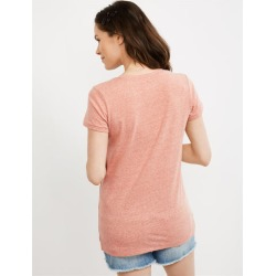 Embroidery Maternity T Shirt