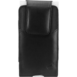 Sanyo SCP-6600 - Vertical Faux Leather Carrying Phone Pouch Case, Black found on Bargain Bro Philippines from cellularoutfitter.com dynamic for $9.99