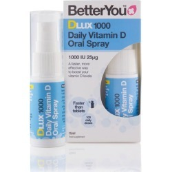 BetterYou DLux1000 Daily Vitamin D Oral Spray - 15ml found on Makeup Collection from Oxygen Boutique for GBP 7.09
