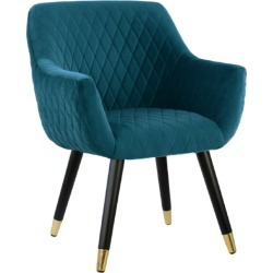 Coco Dining Chair Peacock