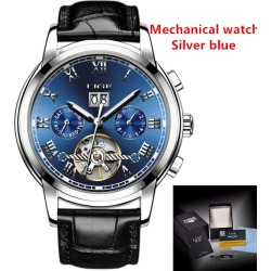 Sport Mens Mechanical Watches Business Automatic title=
