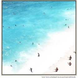 102 Degrees Canvas Print With Floating Frame