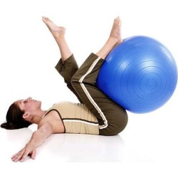 Gymball - Blue 65cm found on Bargain Bro Philippines from Relax The Back for $30.00