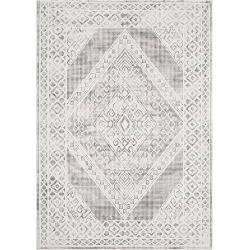 Castle Diamant Black And White Rug
