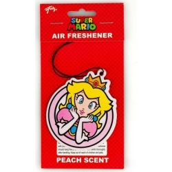 Super Mario - Princess Peach Air Freshener Licensed Nintendo Accessory found on Bargain Bro Philippines from Toynk Toys for $7.99