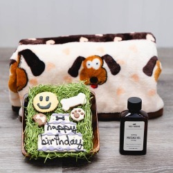 Dog-gone Good Birthday Dog Gift Basket by GiftBasket.com