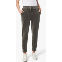 Joe's Jeans Women's Velour Jogger Jeans in Charcoal Grey   Size Small   Cotton/Polyester