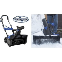 Snow Joe 21-Inch Electric Snow Thrower w/ Steel Auger & 14-Amp Motor