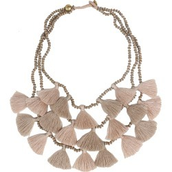 Gia Necklace Sand - Sand / One found on Bargain Bro UK from ASPIGA