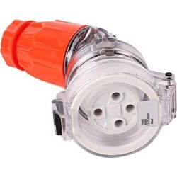 4 Pin Angle Extension Socket 500V
