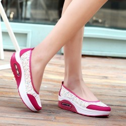 Costbuys  Casual shoes women breathable mesh platform shoes women - 2962 Rose / 9 found on MODAPINS from cost buys for USD $119.99