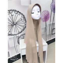 Costbuys  chiffon muslim hijabs scarf fashion headscarf voile musulman solid bonnet hijab - TJ71001 / One Size