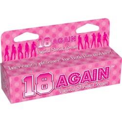 18 Again! - Vaginal Tightening Cream - 44 ml (1.5 oz) Tube