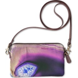 Statement Clutch - Agate Ii in Blue/Pink/Purple by VIDA Original Artist found on MODAPINS from SHOPVIDA for USD $40.00