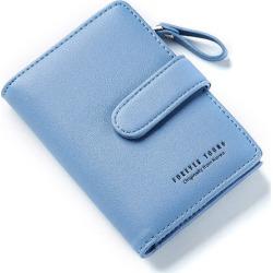 Costbuys  women Wallet Key Case Key Holder Wallet Coin Purse  Housekeeper Car Key Organizer Bag Small Portfolio - Blue