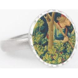 Round Statement Ring - Rubino Woods Trees in Brown/Green by Tony Rubino Original Artist found on Bargain Bro India from SHOPVIDA for $40.00