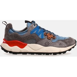 Flower Mountain Yamano 3 (Nylon/Suede) - Grey/Blue found on MODAPINS from Article for USD $210.11