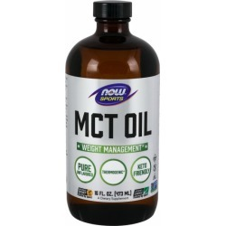 MCT Oil 16 Oz by Now Foods